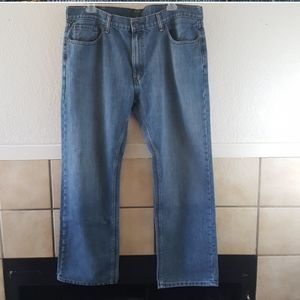 Levi 559 relaxed straight leg jeans 40x32 GUC